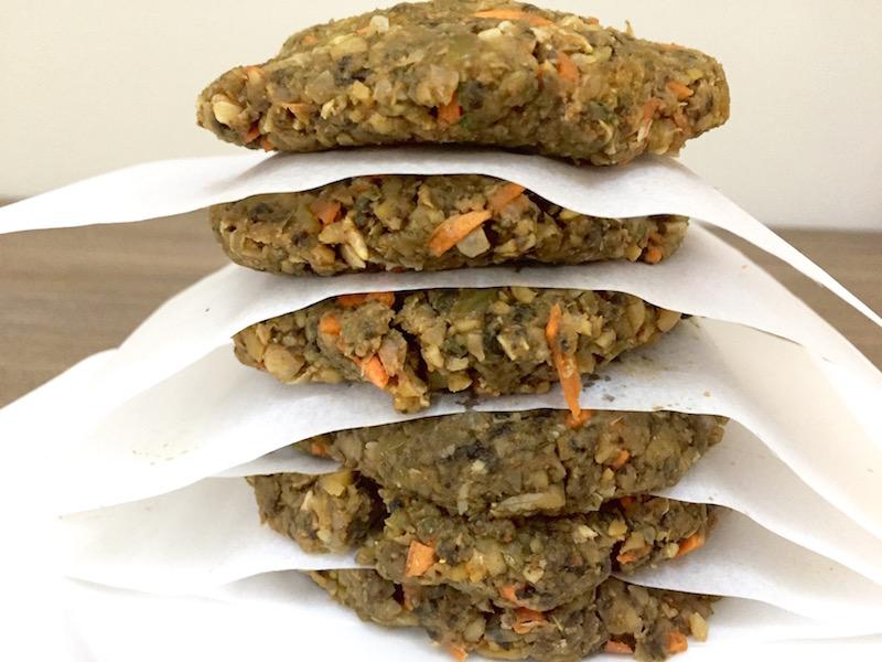 Curry Spiced Veggie Burgers - Edible Musings