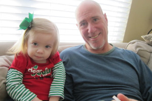 Addison with her poppa Roger!